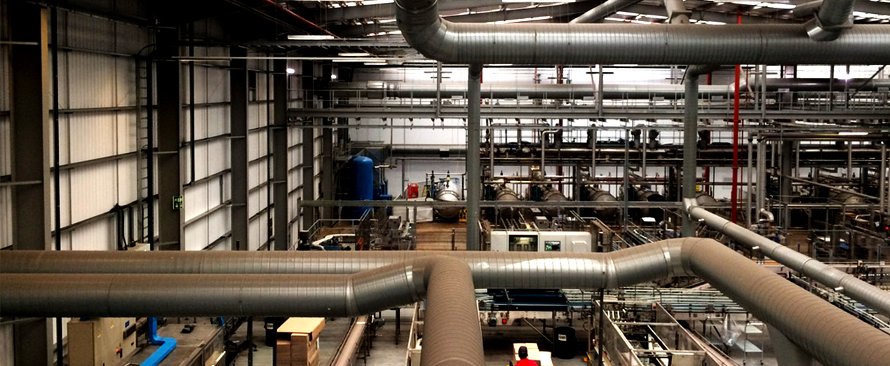 Use of air audits in factory cooling and ventilation